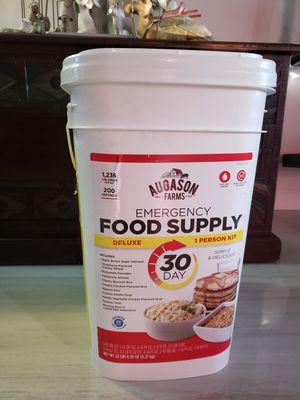 Emergency Food Supply 30 day Augason Farms for Sale in Miami, FL