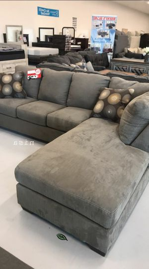 🍻$39 Down Payment 💥  SPECIAL] Zella Charcoal LAF Sectional for Sale in Jessup, MD