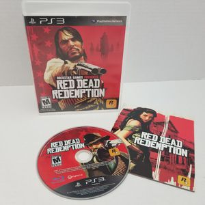 Red dead Ps3 CIB Complete with Manual Good for Sale in Fresno, CA