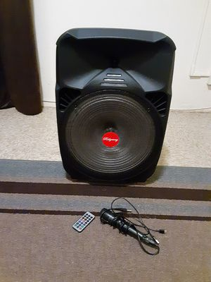"12"" ridgeway wireless bluetooth speaker 3000 watts for Sale in Los Angeles, CA"