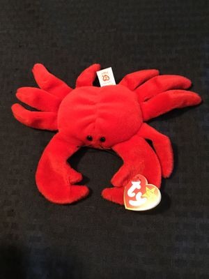 Ty Beanie Baby, Digger the crab for Sale in Imperial, PA