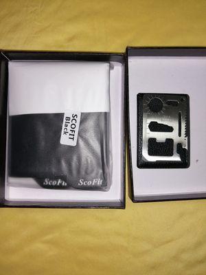 Men's wallet with Gift box ( black for Sale in Jacksonville, FL