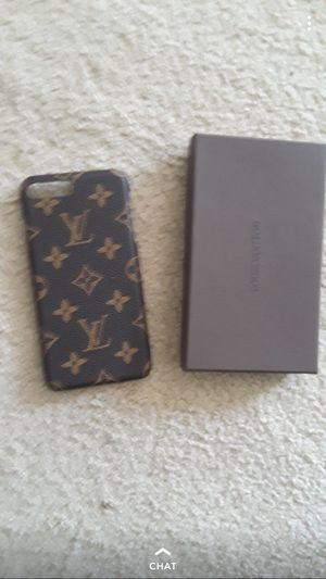 Louis Vuitton IPhone 7 Plus or IPhone 8 Plus case ,Real for Sale in Springfield, VA