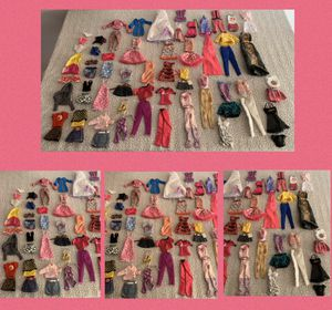 Barbies clothes lote for Sale in Burlington, NC