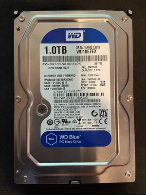 WD 1TB Hardrive 7200RPM (OBO) for Sale in West Sacramento, CA