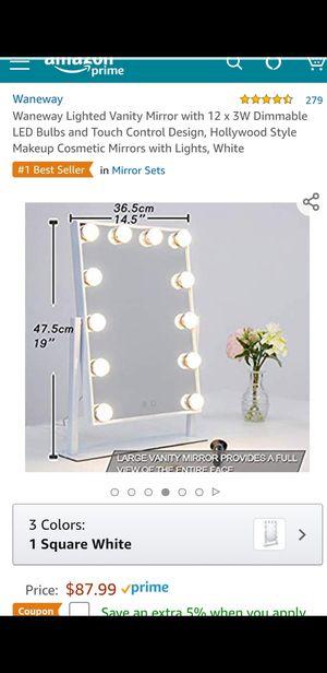 Lighted Vanity Mirror for Sale in Fontana, CA