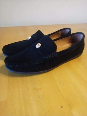 Mens size 11.5 Black loafers brand new in box (China made no name brand) for Sale in Tacoma, WA