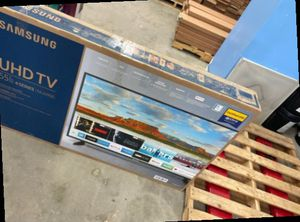 Samsung 55 inch tv nu6900 😎😎😎 WHTS for Sale in Montclair, CA