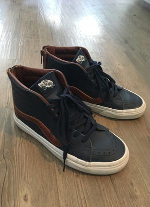 Vans Perforated Leather Size W6 for Sale in Salt Lake City, UT