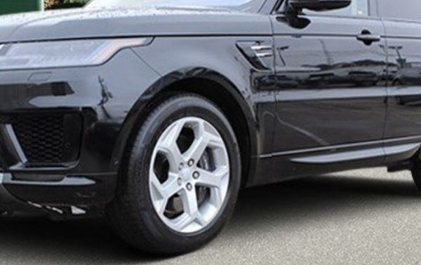 """Range Rover Sport rims with tires 20"""" (500 miles)"""