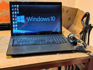 "Acer Aspire 7551 Laptop Windows 10 Pro 6GB Ram 17.3"" Display for Sale in Phoenix, AZ"