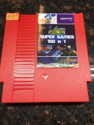150 NES games in one cartridge for Sale in Tampa, FL