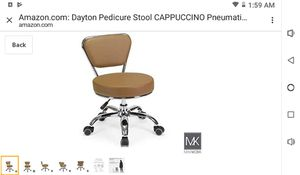 Pedicure stool chairs for Sale in Eau Claire, WI
