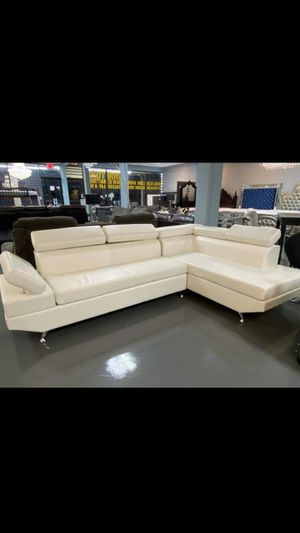 New white sectional/ BLACK FRIDAY SALE!!! for Sale in Houston, TX