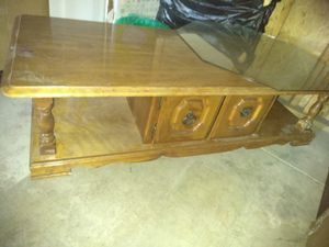 TV stand REAL WOOD for Sale in US