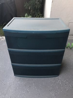 3 tiers plastic bin for Sale in Buena Park, CA
