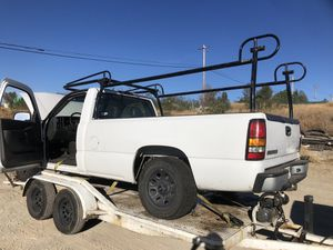 Sierra Silverado parts bed lumber rack axle etc for Sale in Auburn, CA