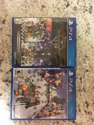 Kingdom hearts 1.5remix - 2.5remix - 2.8 prologue for Sale in Sacramento, CA
