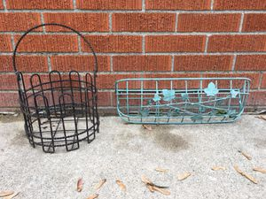 2 Rod Iron Plant Holders for Sale in Dearborn Heights, MI