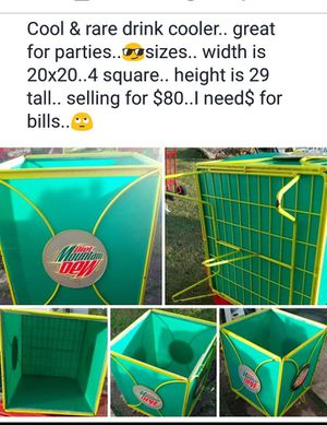 Mt.dew party cooler.. for Sale in Greensboro, NC