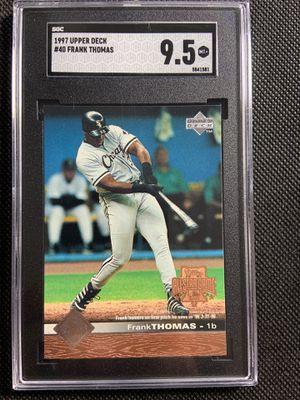 1997 upper deck frank thomas sgc 9.5 Chicago white Sox HOF🔥🔥🔥 for Sale in La Mesa, CA