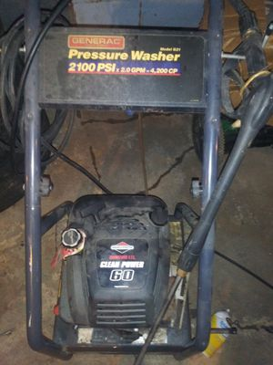 Generac pressure washer 100.00 today for Sale in Columbus, OH