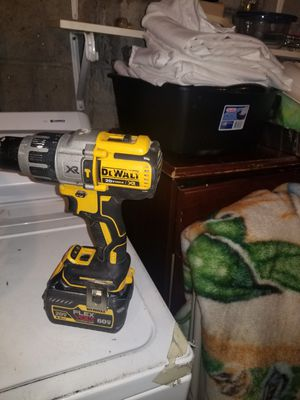 Hammer drill w flex battery tool and battery only for Sale in Revere, MA