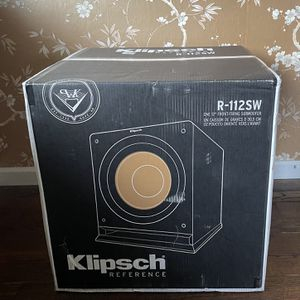 klipsch r-112sw 600W Digital - Powered - Subwoofer/Speaker for Sale in Renton, WA
