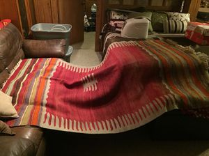 African Tribal Hand Woven Wool Blanket for Sale in Minocqua, WI