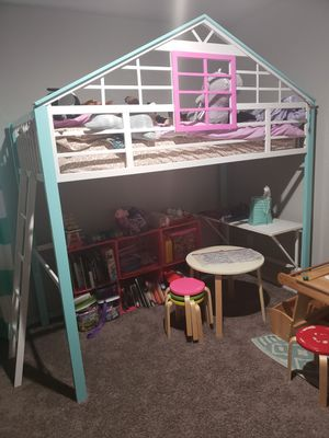 Girls play loft bed frame for Sale in Temple, TX