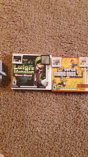 3ds Luigi's Mansion Transformers Spider-Man Mario Party Kirby Triple Deluxe Super Mario Bros 2 Nintendo 3DS case Super Smash Bros for Sale in Salem, OR