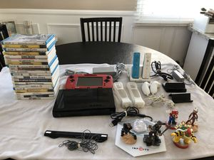 Complete Nintendo Wii Bundle and games. for Sale in Glendora, CA