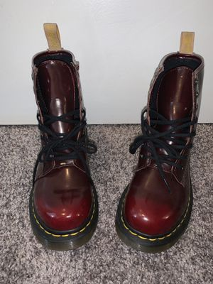 Doc Marten, vegan boots, boots, doc martens, rain boots, red boots, Dr. Martens for Sale in Mount WASHING, OH