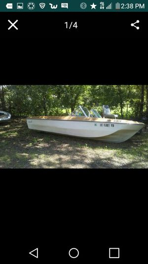 Newman Boat For Parts Or Repair for Sale in San Antonio, TX