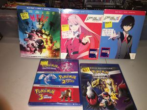Anime - Darling in the Franxx pt1 & pt 2 - M*F*K*Z- Pokémon Movies (BLU-RAY) for Sale in Los Angeles, CA