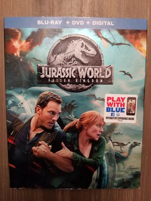 JURASSIC PARK Fallen Kingdom DVD for Sale in Ridgewood, NJ