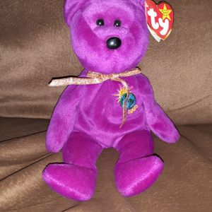 Vintage 1999 1st Edition TY Millennium Beanie Baby with 5 Errors for Sale in Los Lunas, NM