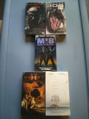 FACTORY SEALED NIP NEW 5 FILM SCI FI VHS COLLECTION for Sale in Decatur, IN