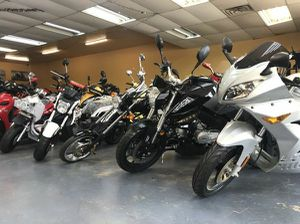 Street legal off brand motorcycle and scooters on huge sale for Sale in Dallas, TX