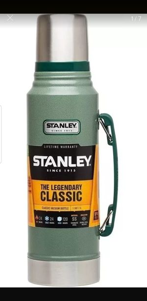 ORIGINAL STANLEY STEEL THERMO CLASSIC 1 LT 24 HS COLD AND HOT for Sale in Hickory Creek, TX
