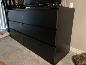 Black IKEA dresser for Sale in Los Angeles, CA