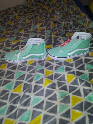Brand new vans not stolen never worn. Men 6 1/2 women size 8 for Sale in Lansdowne, PA