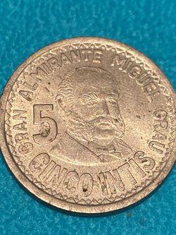 Peru 5 Intis Coins for Sale in Jensen Beach,  FL