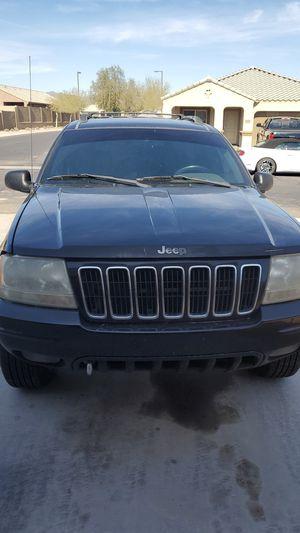2001 grand jeep Cherokee limited for Sale in Buckeye, AZ