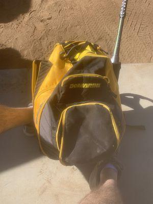 DeMARINI bat bag, MIKEN K2 Freak 23 bat, Rawlings glove and softballs for Sale in Ramona, CA