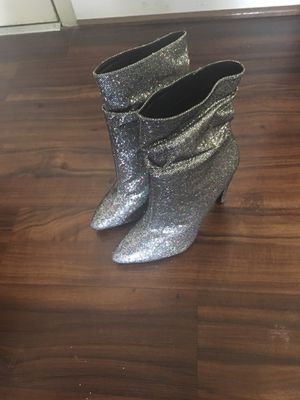 Silver Sequin High Heel Boots for Sale in Washington, DC