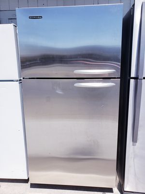 🤗Kitchen Aid Stainless Steel Refrigerator🤗 🎉$50 & TAKE HOME TODAY 🎉 Call us Now 661📲9126645 for Sale in Bakersfield, CA