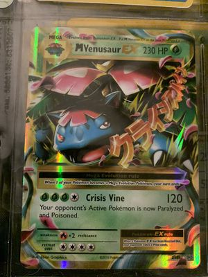 Mega M Venusaur EX - 2/108 - M/NM - Ultra Rare Holo - XY Evolutions - Pokemon for Sale in Elk Grove, CA