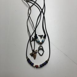 Shark Teeth Necklaces for Sale in Collinsville,  IL