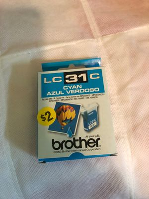 31C cyan brother ink cartridge for Sale in Portsmouth, VA
